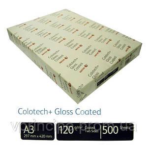 Бумага плотность 120 А3 Colotech (Gloss) 500 листов 90337