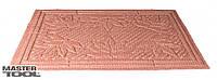 """Коврик резиновый с синтетическим покрытием """"Ромб_Листья"""" 400*600 мм цветной Mastertool 92-0698"""