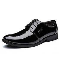 Для мужчин обувь Дерматин Весна Лето Осень Зима Формальная обувь Туфли на шнуровке Для прогулок Молнии Назначение Свадьба Повседневные 05807180
