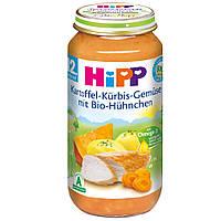 Детское пюре HiPP картофеля и тыквы, овощей и цыпленка от 12 месяцев 250 г