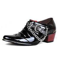 Для мужчин обувь Материал на заказ клиента Весна Лето Осень Зима Удобная обувь Мокасины и Свитер Шнуровка Назначение Свадьба Повседневные 04957496