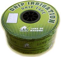Капельная лента эмиттерная L&N, 16мм х 0.20мм, 1,4л/ч, капельницы ч/з 15см, 1000м
