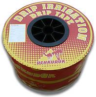 Капельная лента эмиттерная UCHKUDUK, 16мм х 0.18мм, 1,4л/ч, капельницы ч/з 20см, 500м