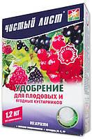 Чистый лист кристаллическое удобрение для плодовых и ягодных кустарников, 1.2 кг