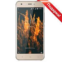 "✓Смартфон 5"" Blackview A7 Pro, 2GB+16GB Золотистый 4 ядра камера Samsung S5K4H5 5Мп Android 7"