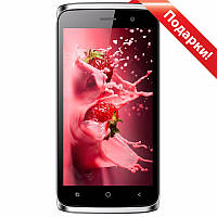 "☎Смартфон 4.5"" BLUBOO Mini, 1GB+8GB Красный 4 ядра IPS экран 2Sim GPS камера 5 Мп Android 6"