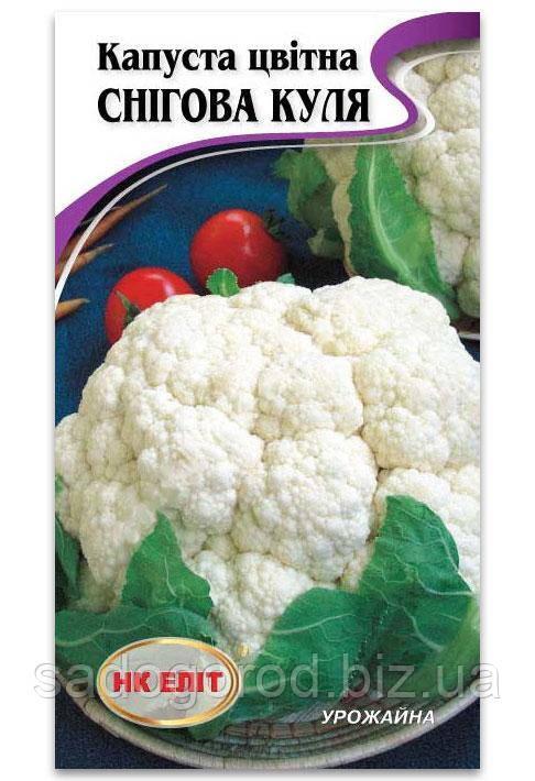 Семена Капусты, Снежный Шар, 100 шт