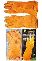 Перчатки резиновые хозяйственные Household Gloves