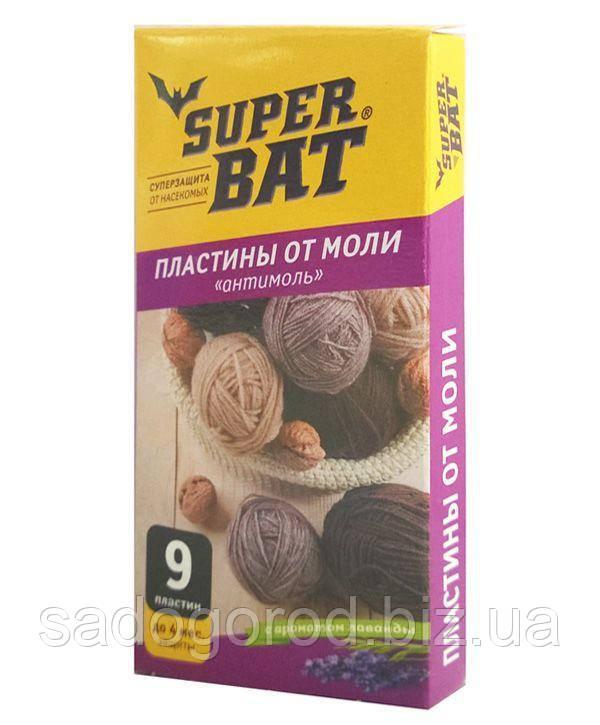 Super Bat пластины от моли с запахом лаванды