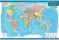 Карта мира политическая ламинированная 1:35млн 1319