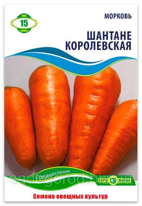 Семена Моркови, Шантане Королевская, 15 г.