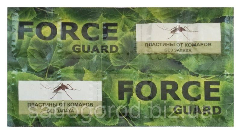 FORCE guard пластины без запаха