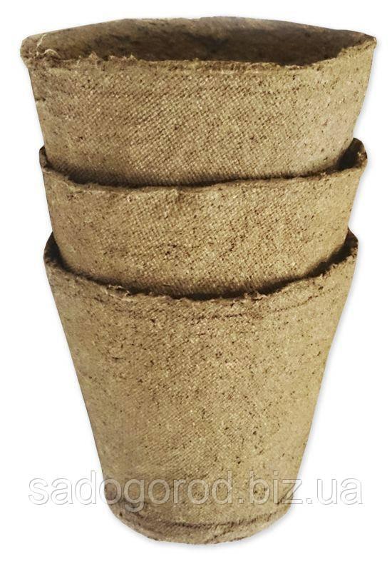 Торфяной горшочек, стаканчик 80*80 мм
