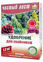 Чистый лист кристаллическое удобрение для хвойников, 1.2 кг
