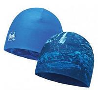 Шапка Buff MICROFIBER REVERSIBLE HAT mountain bits blue