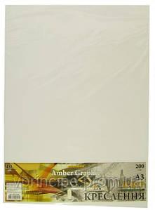 Ватман формат А3, плотность 200г/м2, графика, в упаковке 10 листов