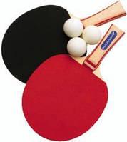 Набор для настольного тенниса:2 ракетки и 3 мячика