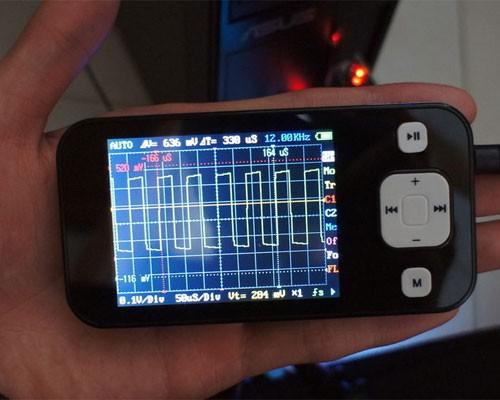 Карманный цифровой осциллограф