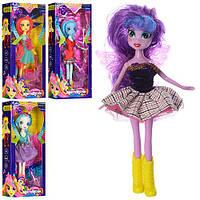 Кукла 24см с крыльями и расческой, подарочная коробка, микс видов