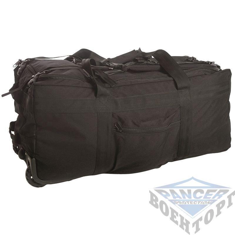 f63d02299ac4 Сумка транспортная COMBAT DUFFLE BAG на колесиках (78х37х37) черная, цена 2  680,59 грн., купить в Киеве — Prom.ua (ID#603655864)