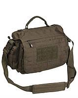 Тактическая сумка из паракорда большая Милтек олива