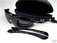 Тактические очки Oakley 1 линза с поляризацией
