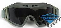 Баллистическая маска Revision Desert Locust Goggles олива