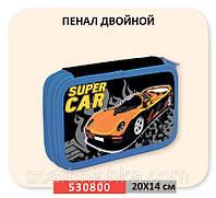 """Пенал 1 Вересня №530800 """"Супер машина""""  Артикул: 137776   Цена розн: 169.00 грн. Цена опт: 135.00 грн."""
