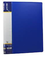 """Папка с  10 прозрачными вкладышами """"Economix"""" цвет синий"""
