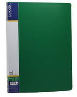 """Папка с  10 прозрачными вкладышами """"conomix"""" цвет зеленый"""