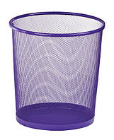 Корзина для бумаг металлическая, фиолетового цвета, производитель ZiBi
