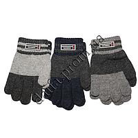 Вязаные перчатки для мальчиков 3-5 лет TM101 оптом в Одессе