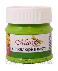 Паста кракелюрная, двухкомпонентная №2, травяная, 50мл, Margo