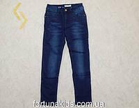 Джинсовые брюки на флисе для девочек F&D