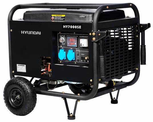 Бензиновый генератор Hyundai HY 7000SE, фото 2
