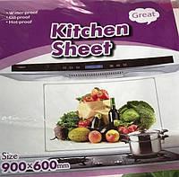 Декоративная защитная наклейка для кафельной плитки Kitchen Sheet (60х90см)