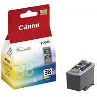 Цветной Струйный картридж Canon CL-38 для Canon PIXMA iP1800, iP1900, iP2500, iP2600, MP140, MP190, MP210,