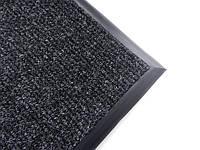 Ковер на резиновом основании 795х695 мм черный