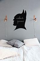 """Наклейки на стену в детскую """"Бетмен"""" в детскую для мальчика"""