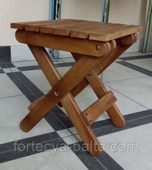 Табурет раскладной деревянной