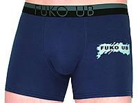 Мужские трусы боксеры бамбук  Fuko UB art.8060