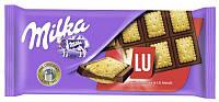 Шоколад MILKA LU  87г Сладкое печенье