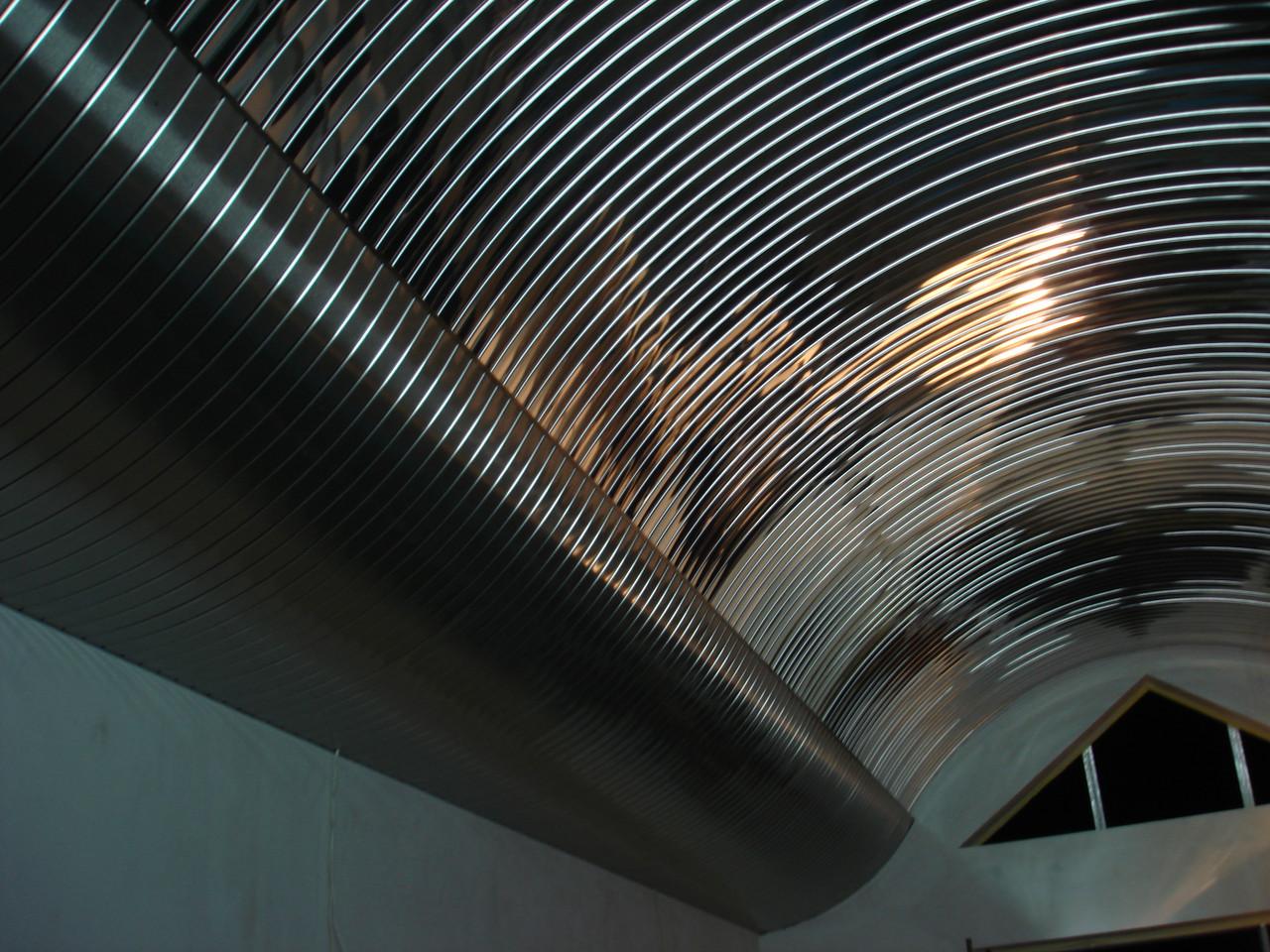 Реечный потолок ( черный мат 9005)