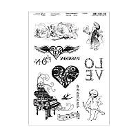 Набор карт-трансферов №10, RosaTalent