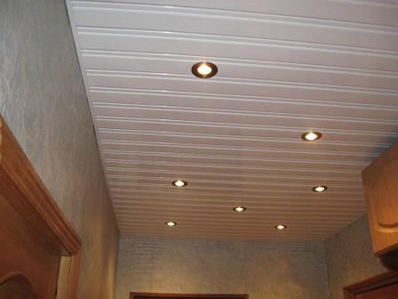 Реечный потолок ( Белый мат RAL 9003), фото 2