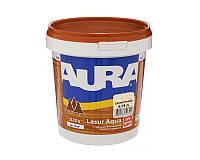 Лазурь-лак акриловый AURA LASUR AQUA для древесины бесцветный 0,75л
