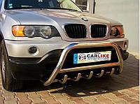 Кенгурятник BMW X5 E-53 1999-2006 гг (нерж.) Ø60
