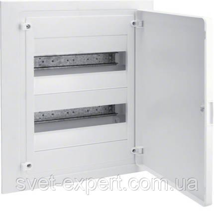 Щит в/у з білими дверцятами, 24 мод. (2х12), GOLF Хагер, фото 2