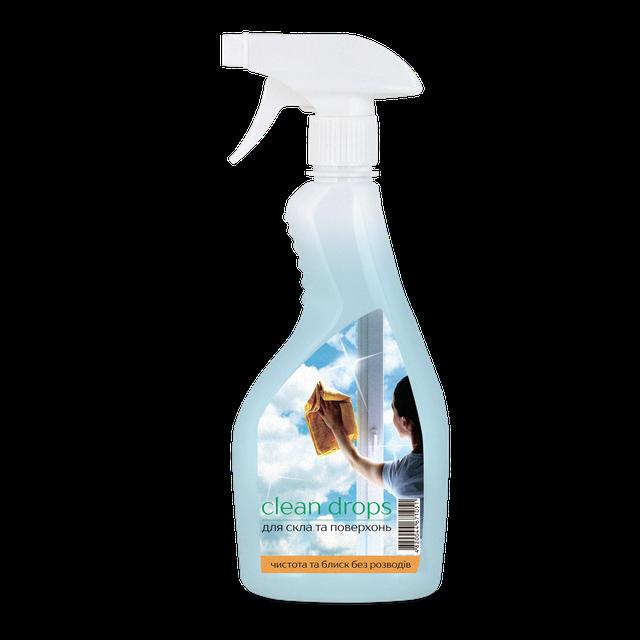 Средства для домашней уборки Clean Drops
