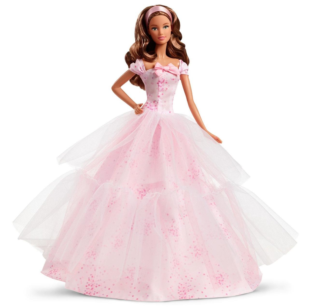 Кукла Барби коллекционная шатенка Особый День рождения Barbie Birthday Wishes 2016 Barbie Doll Light Brunette